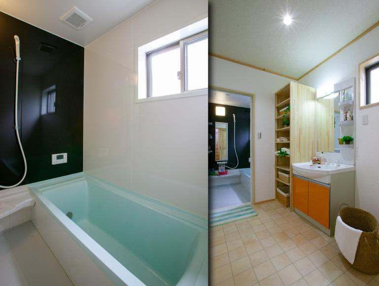 お風呂&洗面所